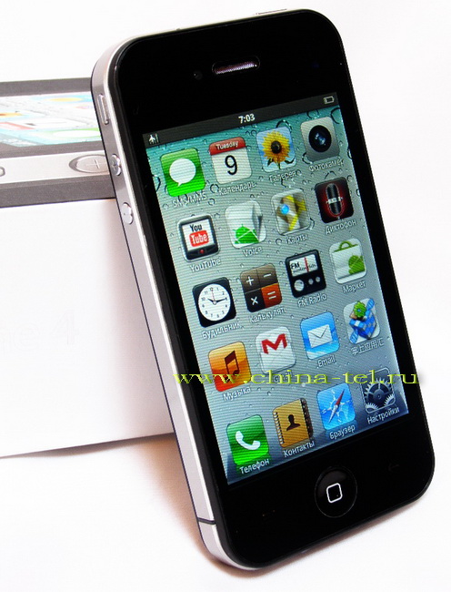 iPhone 4 A3 Android 2.2