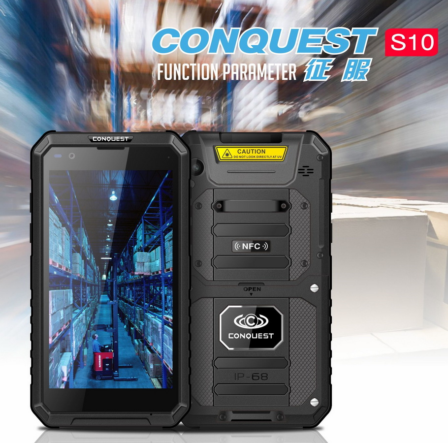 Conquest S10 IP68 Rugged Phone
