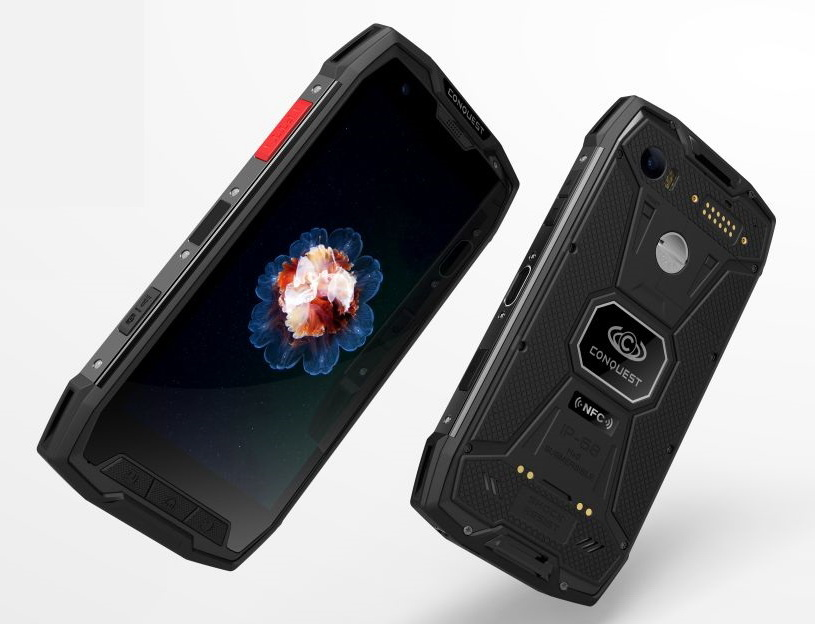 Conquest S9 IP68 rugged phone